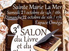 Salon du livre sainte marie de la mer