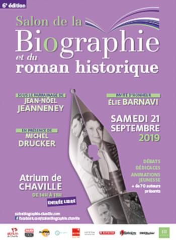 Nombre7 éditions - Salon de la biographie de Chaville 2019