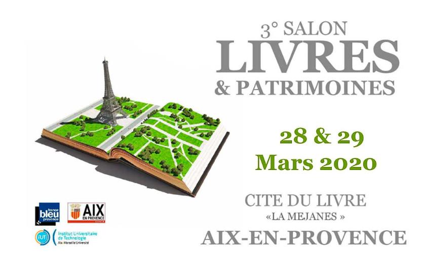 Salon du livre d'Aix en Provence 2020