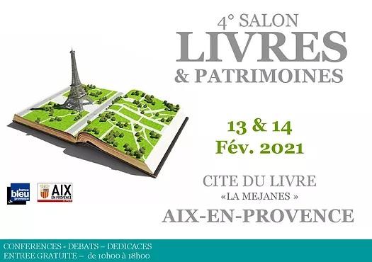 Livres et Patrimoines Aix en Provence 2021