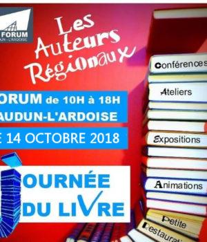 salon du livre Laudun l'Ardoise 2018