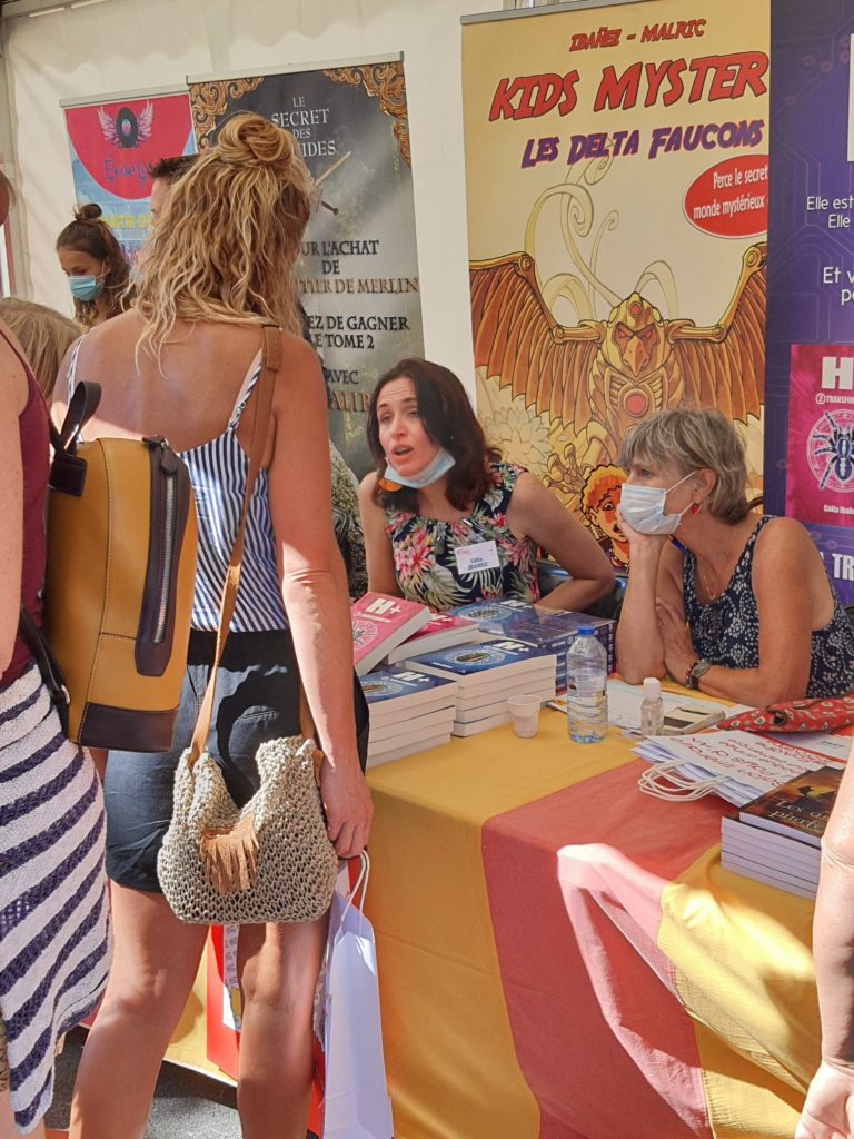Célia Ibanez Ecrivains en  Provence